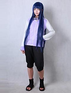 """Inspirert av Naruto Hinata Hyuga Anime  """"Cosplay-kostymer"""" Cosplay Klær Frakk Shorts Til Kvinnelig"""