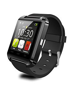 abordables Selección de Bloggers-Reloj elegante U8 para Android Calorías Quemadas / Standby Largo / Pantalla Táctil / Distancia de Monitoreo / Podómetros Temporizador / Reloj Cronómetro / Recordatorio de Llamadas / Seguimiento de