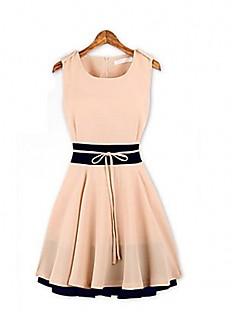 JFSの女性のキュートなノースリーブのドレス