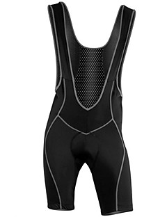cheap Cycling Pants, Shorts, Tights-WOLFBIKE Men's Cycling Bib Shorts Bike Shorts / Bib Shorts / Tights Quick Dry, Breathable Solid Colored Polyester, Spandex, Coolmax® Black