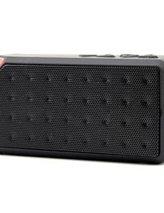 billige Bluetooth høytalere-Utendørs Bærbar Support Minnekort Bluetooth 2.1 USB Trådløse Bluetooth-høyttalere Svart Rød Blå