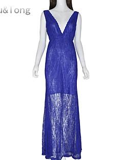 Χαμηλού Κόστους Επιλογές Συντακτών-Γυναικεία Χαριτωμένο Φόρεμα - Μονόχρωμο Μακρύ Μίνι