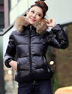 Baibian Women's Fashion Casual Warm Cotton Coat