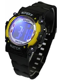billige Børneure-Dame Modeur Digital Watch Japansk Quartz Digital Sort 30 m Afslappet Ur Digital Damer Tegneserie - Gul Rød Blå Et år Batteri Levetid
