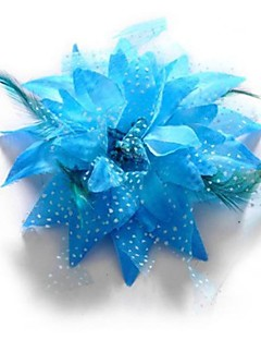 cheap Dance Accessories-Fashion Feather Flower Shape Dance Headpieces(More Colors)