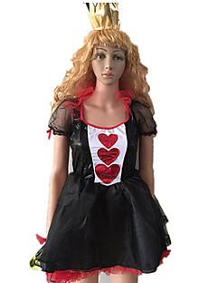 Prinsesse Eventyr Cosplay Kostumer Party-kostyme Kvinnelig Halloween Karneval Nytt År Festival/høytid Halloween-kostymer Lapper