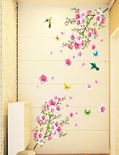 Χαμηλού Κόστους Αυτοκόλλητα Τοίχου Λουλουδιών/Φυτών-Άνθη Κινούμενα σχέδια Αυτοκολλητα ΤΟΙΧΟΥ Αεροπλάνα Αυτοκόλλητα Τοίχου Διακοσμητικά αυτοκόλλητα τοίχου, PVC Αρχική Διακόσμηση Wall Decal