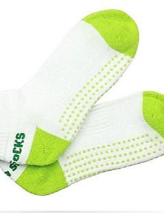 billiga Träning-, jogging- och yogakläder-Dam Yoga Socks - Svart, Grön, Rosa sporter Strumpor Sportkläder Anti-Halk Elastisk