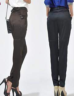 Women's Casual Inelastic Medium Harem Pants (Polyester)