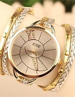 Women's 2015 The Latest Fashion  Leather  Quartz Watch Hot Sale(Assorted Colors) Cool Watches Unique Watches Strap Watch