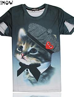 T-Shirts - MEN Neformalan/Sport Pamuk )