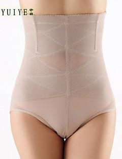 Göğüs Üstü Korse Yatak kıyafeti Solid Ağ / Naylon Bej / Siyah Kadın