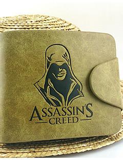 Veske Inspirert av Assassin's Creed Yukimura Chizuru Anime / Videospil Cosplay Tilbehør Veske Gul Patentert Lær / PU Leather Mann