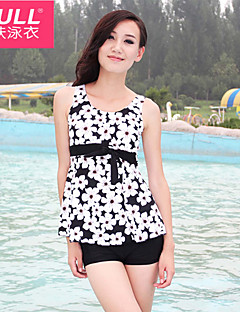 cheap Women's Swimwear & Bikinis-Woman fashion cute FLOWER SWIMSUIT