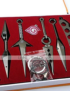 Våpen Inspirert av Naruto Cosplay Anime Cosplay-tilbehør Våpen