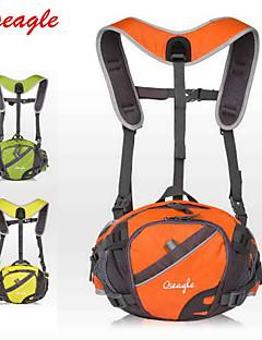 billiga Ryggsäckar och väskor-OSEAGLE 10L Ryggsäckar / Magväskor / Cykling Ryggsäck - Bärbar, Multifunktionell, Reflexremsa Camping, Klättring, Cykling / Cykel Nylon