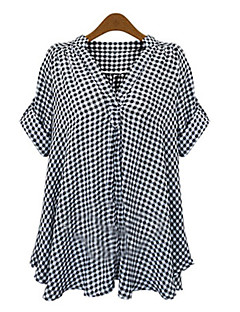 Women's Check  Shirt (cotton)