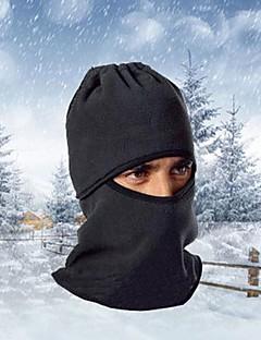 billige Sykkelklær-balaclavas Vinter Hold Varm / Vindtett / Støvtett Fritidssport / Sykling / Sykkel Herre / Dame Fleece Ensfarget / Pustende / Pustende