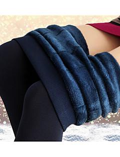 Ženy Podšité flísem Legging,Polyester Tlusté