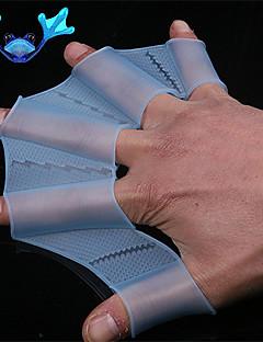 viteze de înot de mână fin webbed silicon inotatoare femei de formare mănuși bărbați copii webbed mănuși pentru înot