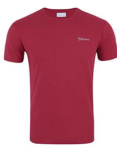 billige Løbetøj-Herre Løbe-T-shirt Åndbart, Svedreducerende, Begrænser bakterier T-Shirt / Toppe for Træning & Fitness / Racing / Løb Polyester Lyseblå /
