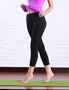 billiga Träning-, jogging- och yogakläder-Queen Yoga Dam Lappverk Yoga byxor - Ljusgrå, Rosa, Violet t sporter Underdelar Ärmlös Sportkläder Andningsfunktion, Kompression Elastisk