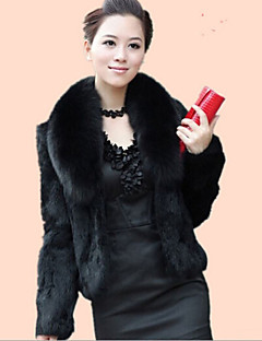 cheap -Long Sleeves Faux Fur Wedding Wedding  Wraps Fur Coats With Feathers / fur Shrugs