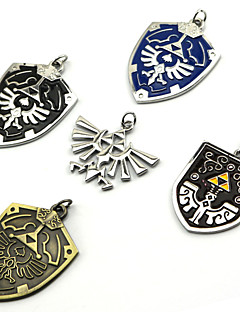 cheap -Jewelry Inspired by The Legend of Zelda Cosplay Anime/ Video Games Cosplay Accessories Necklace Black / Blue / Purple / Golden / Silver