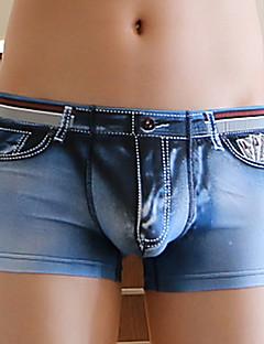 cheap Men's Underwear & Swimwear-Men's Sexy Underwear Multicolor High-quality Cotton Boxers