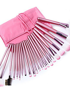 makeup pensler 22 stk overlegne professionelle bløde kosmetik udgør børste sæt kvindes PINCEL kabuki kit makeup pensler