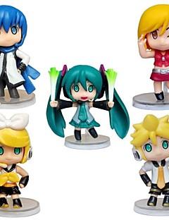 billige Anime cosplay-Andre Hatsune Miku PVC Anime Action Figurer Modell Leker Doll Toy