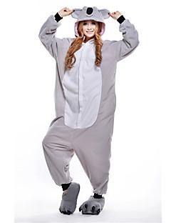 Kigurumi Pyjamas Koala Kostume Grå Polar Fleece Kigurumi Trikot / Heldraktskostymer Cosplay Festival / høytid Pysjamas med dyremotiv