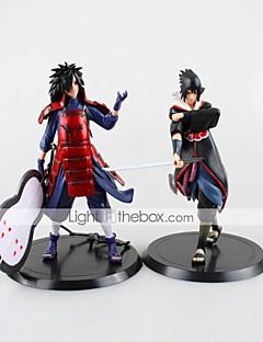 billige Anime cosplay-Anime Action Figurer Inspirert av Naruto Saber PVC 18 CM Modell Leker Dukke