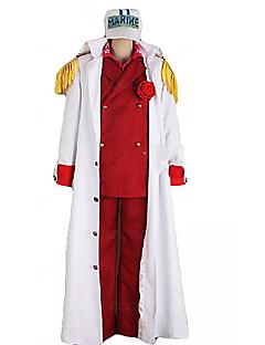 ett stykke foxy ref admiral Akainu marine uniform cosplay kostyme