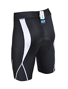 cheap Cycling Pants, Shorts, Tights-Acacia Cycling Padded Shorts Unisex Bike Padded Shorts/Chamois Shorts Bottoms Winter Bike Wear Quick Dry Wearable Breathable smooth Back