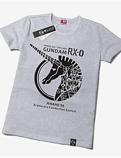 """Inspirert av Gundam Gundam Anime  """"Cosplay-kostymer"""" Cosplay T-skjorte Trykt mønster Kortermet T-Trøye Til Unisex"""