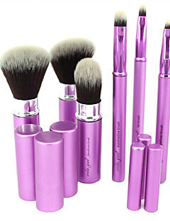 cool makeup brushes. vela.yue® makeup brush set 6pcs travel beauty tools kit retractable with cover cool brushes
