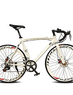 baratos Total Promoção Limpa Estoque-Bicicletas de estrada Ciclismo 14 velocidade 26 polegadas / 700CC SHIMANO TX30 Freio a Disco Duplo Comum Manocoque Comum Liga de alumínio / #