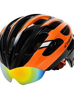 billiga Cykling-CIGNA Vuxen cykelhjälm Flyghjälm 27 Ventiler Stöttålig, Justerbar passform Karbonfiber + EPS sporter Vägcykling / Cykling / Cykel / Mountainbike - Svart / Guld / Orange / Svart / Vit  / Svart /  Blå