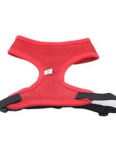 billiga Hundkläder-Hund Selar Hundkläder Enfärgad Gul Röd Grön Blå Rosa Nylon Kostym För husdjur Herr Dam Vattentät Mode