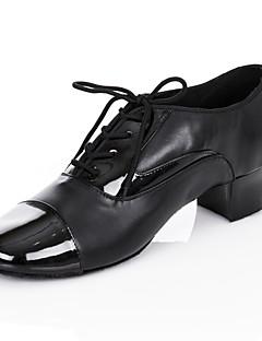 maßgeschneiderte Performance Tanzschuhe Kunstleder oberen Latin Schuhe für Männer