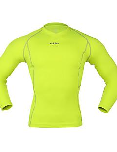 billiga Träning-, jogging- och yogakläder-Herr T-shirt för jogging sporter Kompressionskläder / Leggings Sportkläder Kompression