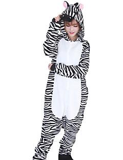 Kigurumi Pyjamas Sebra Kostume Svart hvit Kigurumi Trikot / Heldraktskostymer Cosplay Festival / høytid Pysjamas med dyremotiv Halloween