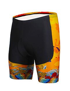 ILPALADINO Fôrede sykkelshorts Sykkel Shorts Fôrede shorts Bunner Herre Unisex Fort Tørring Vindtett Anatomisk design Isolert Fukt