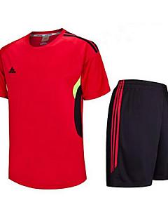 Enfant Football Shirt + Shorts Ensemble de Vêtements Séchage rapide Respirable Printemps Eté Hiver Automne Classique Térylène Exercice &