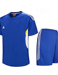 Homens Futebol Moletom Camisa/Roupas Para Esporte Conjuntos de Roupas Secagem Rápida Respirável Primavera Verão Inverno Outono Terylene