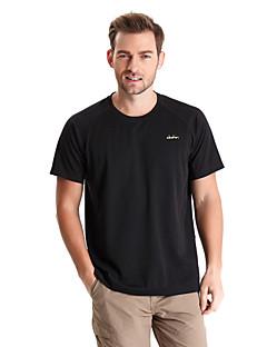 Herrn T-Shirt für Wanderer Rasche Trocknung tragbar Atmungsaktiv Außen T-shirt Oberteile für Camping & Wandern Angeln Klettern Übung &