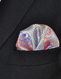 Men's Rayon Cravat & Ascot,Casual Print All Seasons Gray