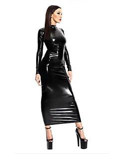 billige Sexy kostymer-Flere Kostymer Cosplay Kostumer Herre Dame Karneval Nytt År Festival / høytid Halloween-kostymer Lys Svart Ensfarget Sexy Uniformer Flere