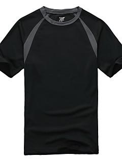 tanie Koszulki turystyczne-Męskie / Damskie T-shirt turystyczny Na wolnym powietrzu Szybkie wysychanie Top Sport i rekreacja